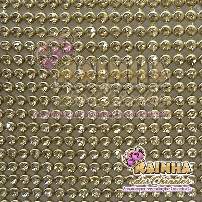 Bolsa De Strass Dourada : Manta de strass dourada dourado rainha dos chinelos
