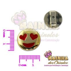 Passante ABS Emoji Apaixonado 2