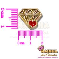 Passante ABS Emoji Diamante 2