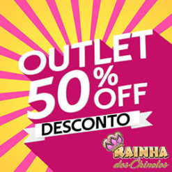 OUTLET 50% OFF