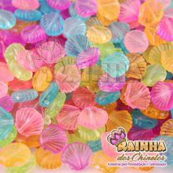 Passantes Conchas Coloridas